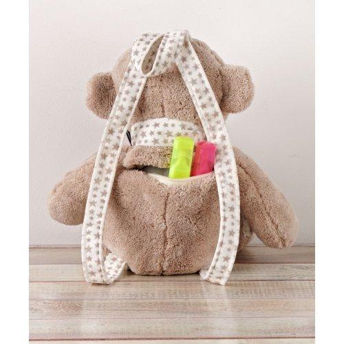 KENTIA Baby-Bag 190 Τσάντα Παιχνίδι Beige Monkey 0020629