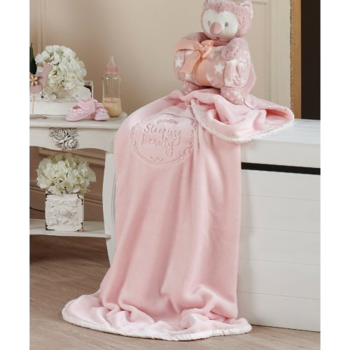 KENTIA Beauty Βρεφική Κουβέρτα Αγκαλιάς Velour Fleece