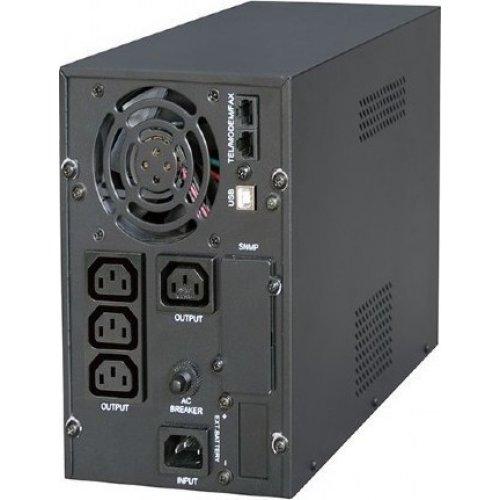 ENERGENIE EG-UPS-PS2000-01 PURE SINE WAVE UPS, LCD DISPLAY, USB, 2000VA, BLACK 0020827