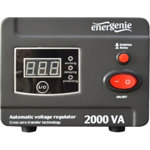 ENERGENIE EG-AVR-D2000-01 AVR And Stabilizer Digital Series 2000VA 0020887