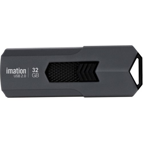 IMATION KR03020046 USB Flash Drive Iron, 32GB, USB 2.0, Γκρι