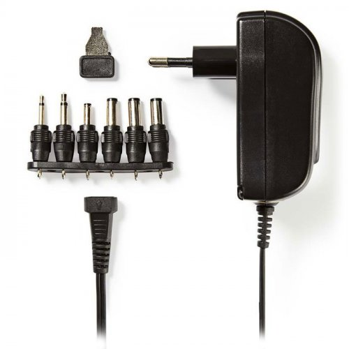 NEDIS ACPA002 Universal Τροφοδοτικό 18W Switching με Συμπαγή Σχεδιασμό Έξοδο 3-12V και Ενδεικτική Λυχνία LED 0021083