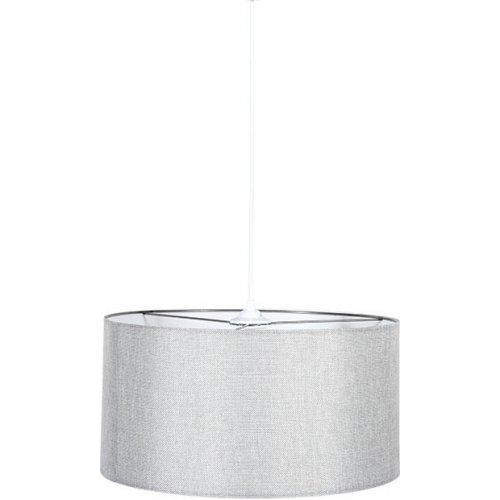 FYLLIANA 835-91-092 Φωτιστικό Οροφής Γκρι Καπέλο Με Λευκό Καλώδιο 40χ75εκ 0021102