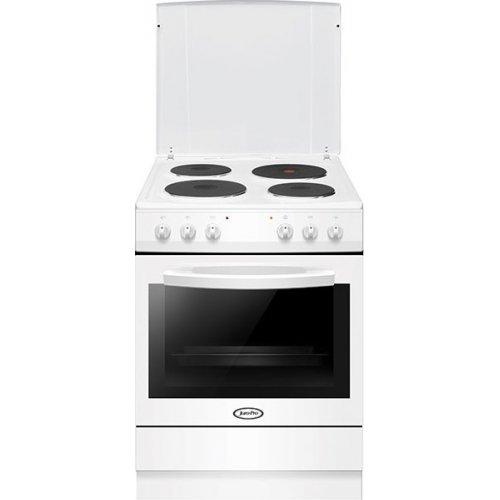 JURO PRO HK7111WA Ηλεκτρική Κουζίνα Με Εμαγιέ Εστίες 77 Lt - Α - 60cm Λευκή (Αερόθερμη) 0021343