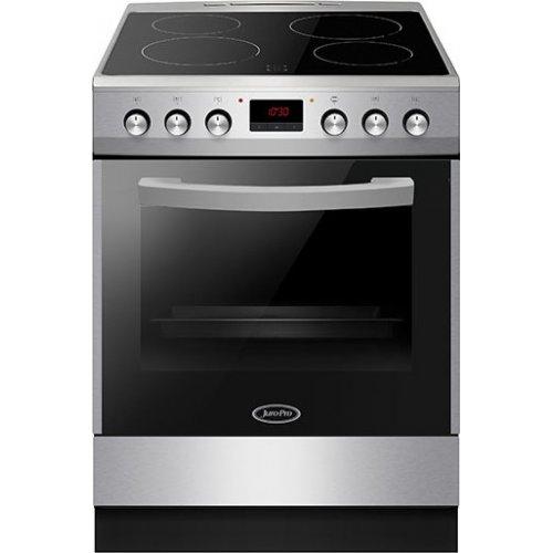 JURO PRO HK7211SP Ηλεκτρική Κουζίνα Με Κεραμικές Εστίες 77 lt - Α - 60 cm - Inox (Αερόθερμη) 0021345