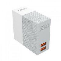 LDNIO PA606 Φορτιστής Τοίχου Και Powerbank 5200 mA 2 in 1 LD-606