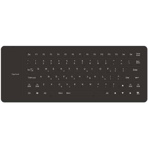 LAMTECH LAM021295 Flexible Keyboard GR Layout