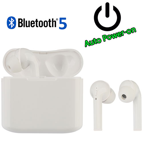 LAMTECH LAM020953 Bluetooth 5.0 TWS Earphones With Charging Dock 0021613
