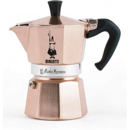 BIALETTI Moka Express Καφετιέρα Espresso 3 Μερίδων Rose Gold (RSG003)