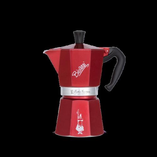 BIALETTI Moka Express Centenario Καφετιέρα Espresso 6 Μερίδων - ΕΠΕΤΕΙΑΚΟ - συλλεκτικό μοντέλο (CENT004)