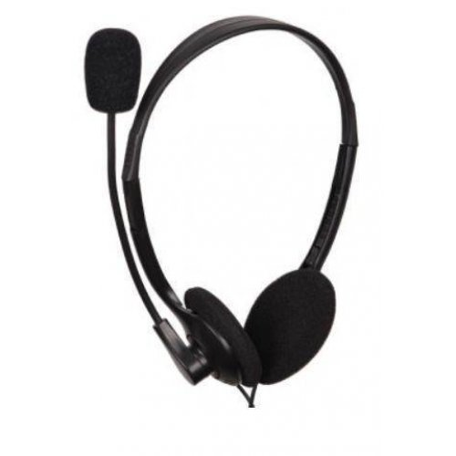 GEMBIRD MHS-123 Stereo Headset With Volume Control Black 0022080