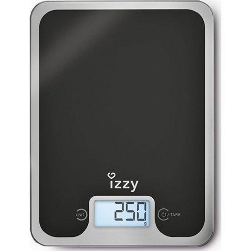 IZZY BLACK MIRROR IZ-7004 (223083) Ζυγαριά Κουζίνας 0022122