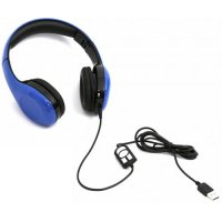 PLATINET PL42686 Freestyle USB Headset With Mic Blue 0022126