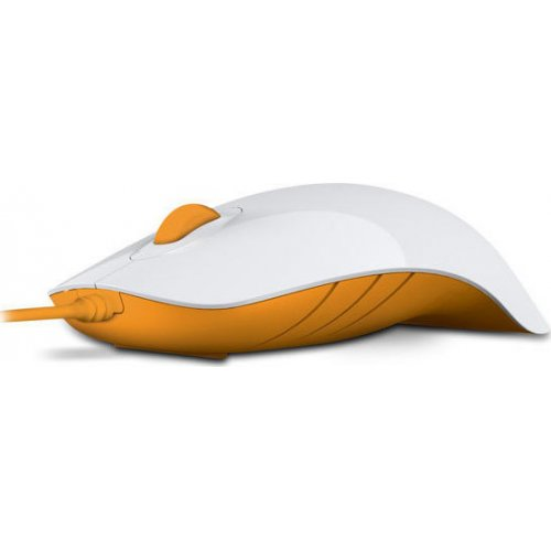 ALCATROZ Air Shark Ασύρματο Ποντίκι White/Orange (AIRSHARKWFY) 0022156