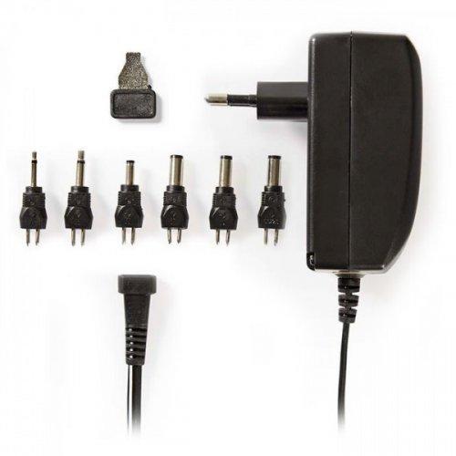 NEDIS ACPA003 Universal Τροφοδοτικό 24W Switching με Συμπαγή Σχεδιασμό Έξοδο 9-24V και Ενδεικτική Λυχνία LED 0022316