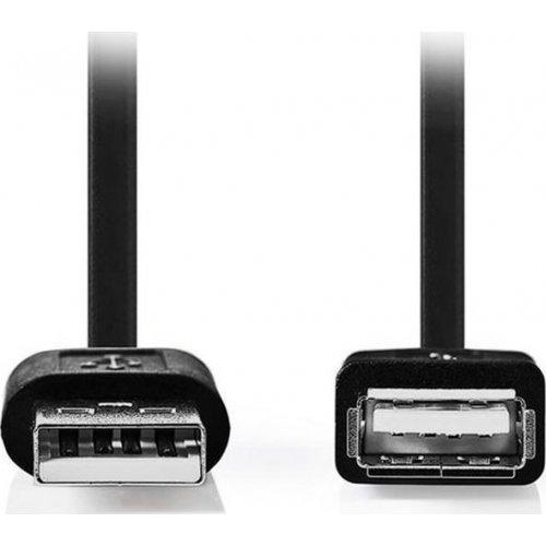 NEDIS CCGT60010BK20 Καλώδιο USB 2.0 A αρσ. - USB A θηλ., 2.0m