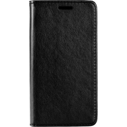 POWERTECH MOB-1065 Θήκη Leather magnet για Samsung A6 Plus 2018 Black