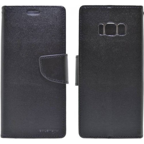 MERCURY BD-0009 Θήκη Bravo Diary για Samsung S8 Black 0022392