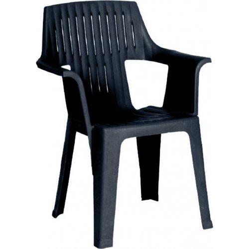 FYLLIANA Pasha 876-00-017 Καρέκλα Πλαστική Ανθρακί