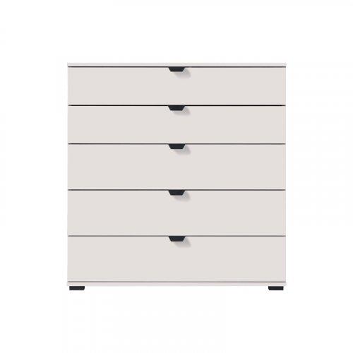 FORMA IDEALE 11008296 Κομότα Duero 5F 90 Λευκό Χρώμα 90χ40χ95εκ.