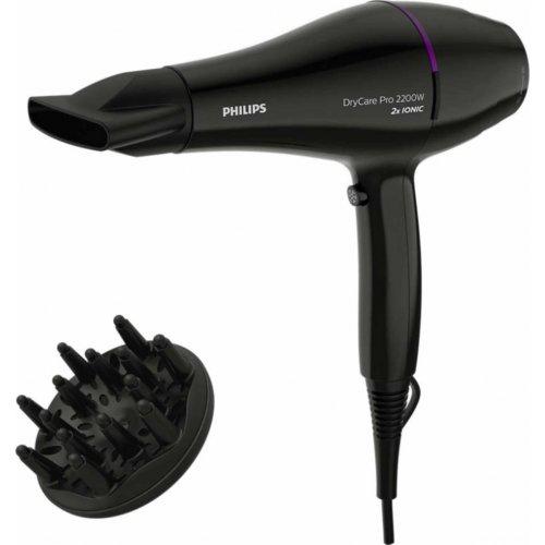 PHILIPS DryCare Pro BHD274/00 Σεσουάρ Μαλλιών 2200W με AC Μοτέρ Black 0022933