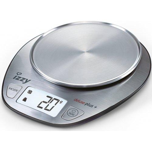 IZZY Deluxe Plus+ Ψηφιακή Ζυγαριά Κουζίνας Inox 0022939