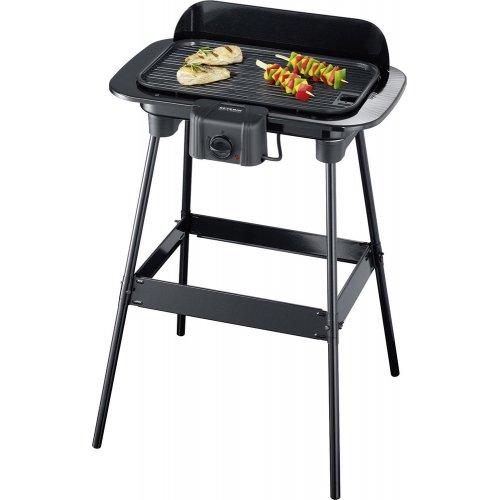 SEVERIN PG 8522 BBQ Grill Ηλεκτρική Ψηστιέρα με Αντικολλητικό Ταψί 1600W 0022965