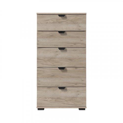 FORMA IDEALE 11008309 Κομότα Duero 5F 45 Grey Oak Χρώμα 45χ40χ95εκ.