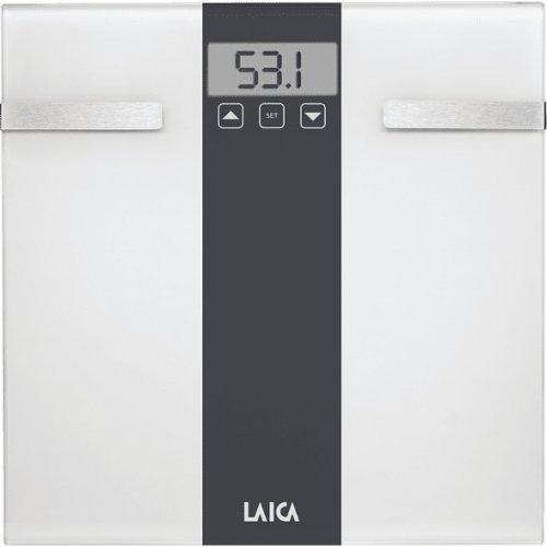 LAICA PS5000 Ηλ. Ζυγαριά - Λιπομετρητής εώς 180kg White