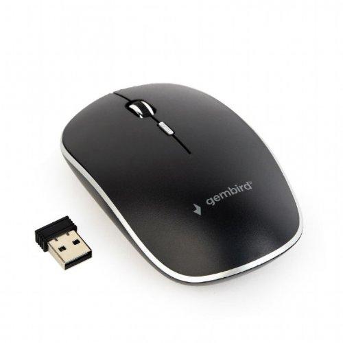 GEMBIRD MUSW-4B-01 Wireless Optical Mouse Black 0023059