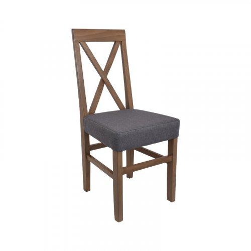 FYLLIANA 839-00-690 Καρέκλα Τραπεζαρίας Tx Grey Oak-Γκρι 43χ44χ98εκ.