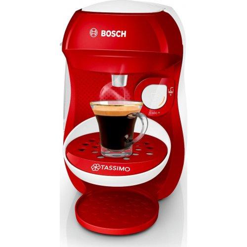 BOSCH Tassimo Happy TAS1006 Αυτόματη Καφετιέρα Espresso Red 0023188