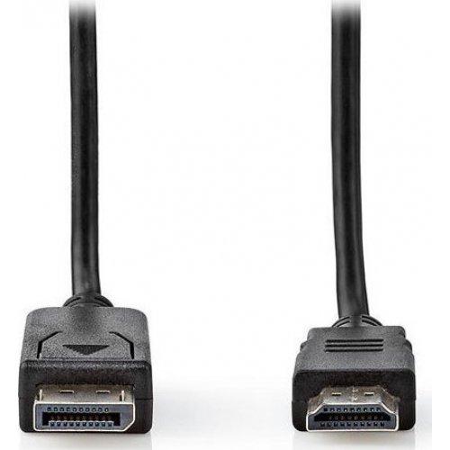 NEDIS CCGT37100BK20 Καλώδιο Εικόνας DisplayPort αρσ. σε HDMI αρσ., 2.00m 0023204