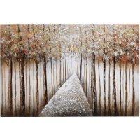 INART 3-90-519-0160  Πίνακας Καμβάς Δάσος 90χ60