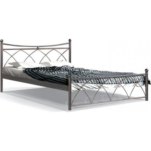 FYLLIANA 827-91-026 Κρεβάτι Σιδερένιο Καφέ Hermes 120x200