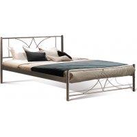 FYLLIANA 827-00-035 Κρεβάτι Σιδερένιο Καφέ Diagoras 90x200