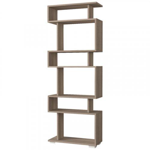 FYLLIANA 881-00-018 Βιβλιοθήκη Ραφιέρα Lock Grey Oak 60x20x157