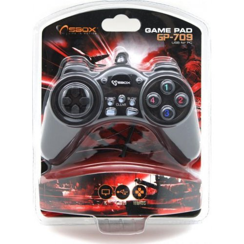 SBOX GP-709 USB Gamepad for PC 0023586