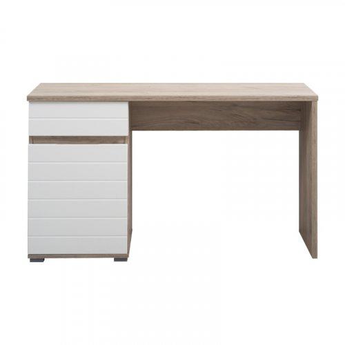 FORMA IDEALE ELAN 11008650 Γραφείο ΟΑΚ/Λευκή Λάκκα 130x50x75,5 εκ