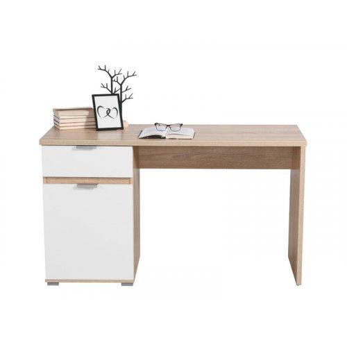 FORMA IDEALE JAN 11008655 Γραφείο Sonoma / Λευκό 130x50x75,5 εκ