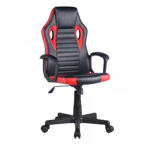 FYLLIANA 093-00-131 Καρέκλα Gaming 5630 Μαύρη-Κόκκινη Δερμάτινη 61χ55χ120 web