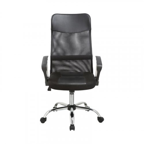 FYLLIANA 387-00-001 Καρέκλα Γραφείου 4006 Μαύρη Πλάτη-Μαύρο Κάθισμα 59χ60χ120