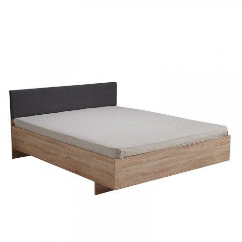 FORMA IDEALE 11008504 Κρεβάτι Ritmo160 Sonoma Με Γκρί Υφασμα 164Χ203Χ84.5 (160Χ200)