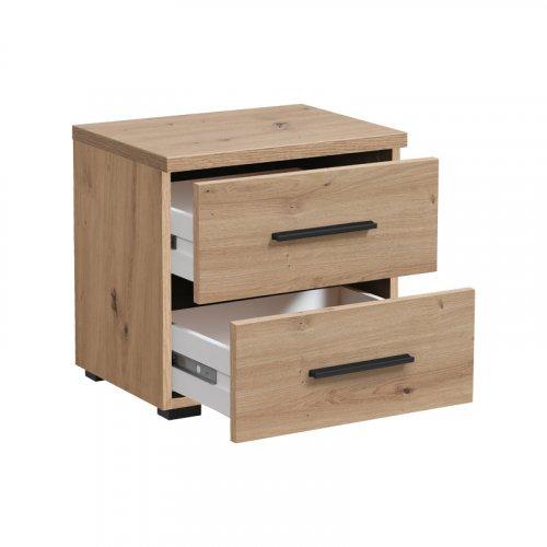 FORMA IDEALE 11008166 Κομοδίνο DADO NO2F Artisian  Oak 44,5x33,5x43