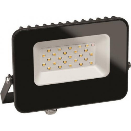 EUROLAMP 147-69360 Προβολέας LED SMD Με SENSOR Ημέρας - Νύχτας 20W 6500K IP65 Γραφίτης PLUS 0023753