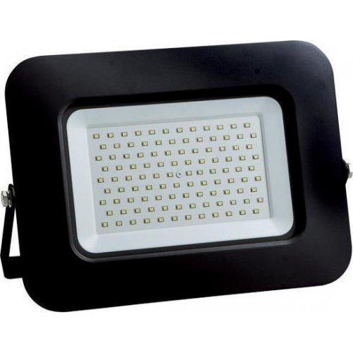 EUROLAMP 147-69350 Προβολέας LED SMD Βάση 360° Plus 100W Μαύρος IP65 6500K Plus 0023785