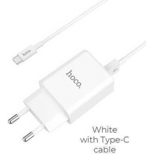 HOCO HOME TYPEC CABLE 2.1A ΦΟΡΤΙΣΤΗΣ