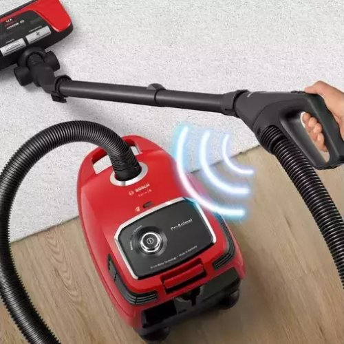 BOSCH BGL6PET1 Ηλεκτρική Σκούπα Με Σακούλα 700 W- 4lt Κόκκινο 0024019