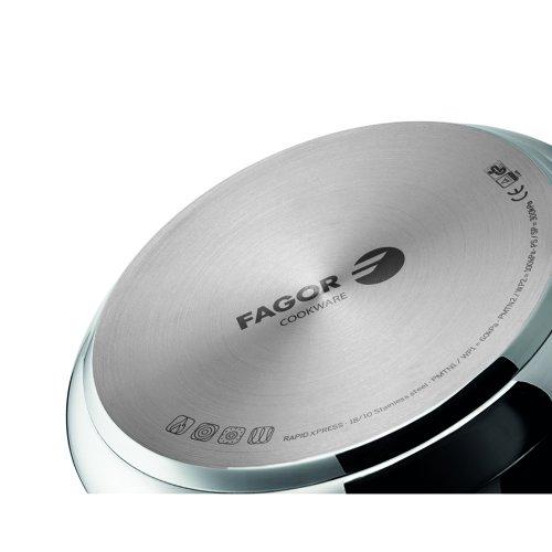 FAGOR 81OPFGRAP80 RAPID XPRESS 8lt Χύτρα Ταχύτητος Super Fast (NEW MODEL) 0024361