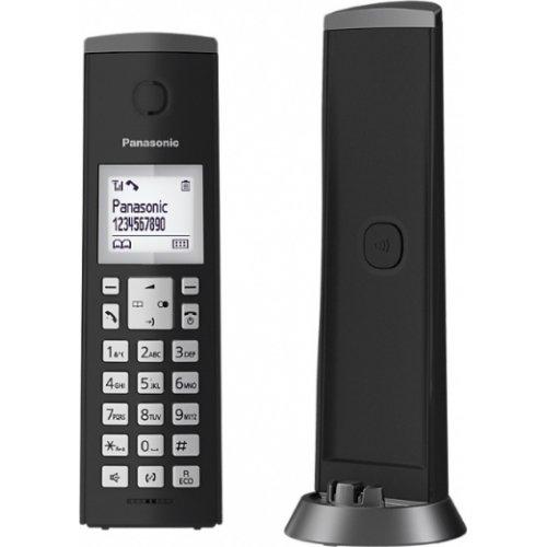 PANASONIC KX-TGK210GRB Ασύρματο Τηλέφωνο Μαύρο 0024486